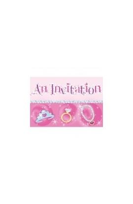 Princess - zaproszenia.
