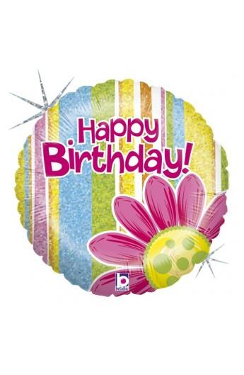 "Balon urodzinowy 18"" 45 cm CITRUS GARDEN BIRTHDAY"