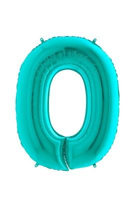 """40"""" 101 cm Cyferka 0 Tiffany"""