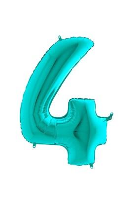 """40"""" 101 cm Cyferka 4 Tiffany"""