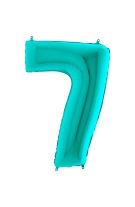 """40"""" 101 cm Cyferka 7 Tiffany"""