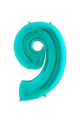 """40"""" 101 cm Cyferka 9 Tiffany"""