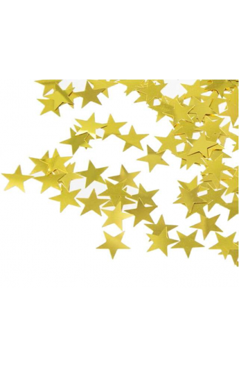 Konfetti gwiazdki złote 1 kg