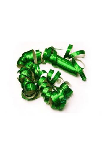 Serpentyna holograficzna zielona