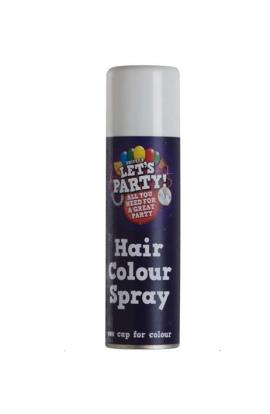 Srebrny lakier do włosów. Pojemność 125 ml