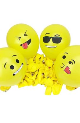 Balony gumowe emotikony