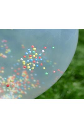 Balony z kuleczkami 30 cm