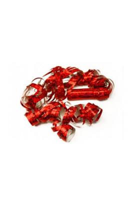 Serpentyna holograficzna czerwona