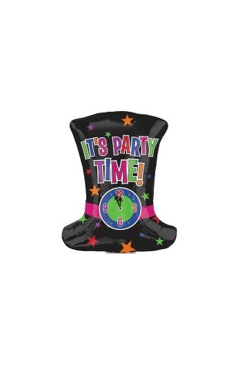 "Balon foliowy 24"" Kapelusz It's party time"