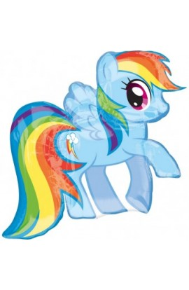 "Balon foliowy 24"" Rainbow Dash"