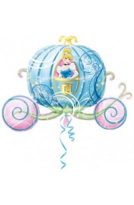 """Balon foliowy 24"""" Kareta Kopciuszka"""