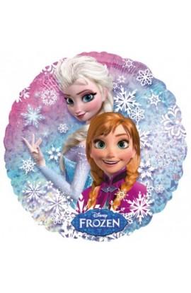 "Balon foliowy holograf 18"" Frozen"