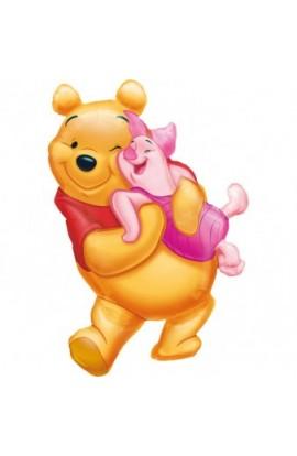 "Balon foliowy 24"" BIG POOH HUG"