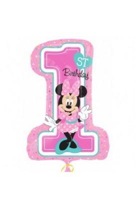 "24"" MINNIE 1ST BIRTHDAY"