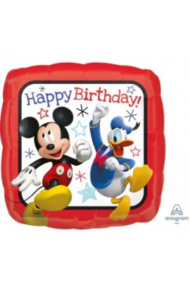 "18"" MICKEY ROADSTER HAPPY BIRTHDAY"