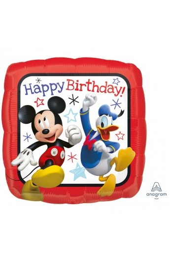 "Balon urodzinowy 18"" MICKEY ROADSTER HAPPY BIRTHDAY"