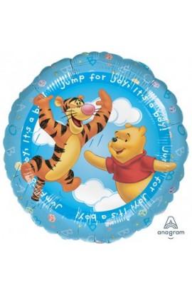 "Balon foliowy 18"" Kubuś Puchatek It's a boy"