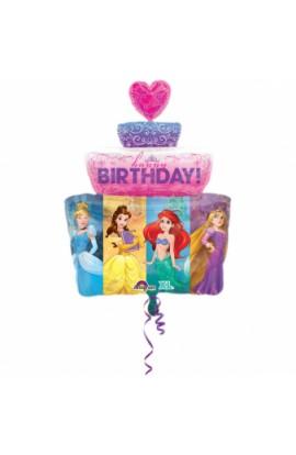 """Balon foliowy urodzinowy 24"""" Księżniczki Disney'a"""