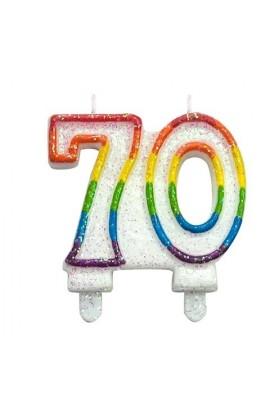 ŚWIECZKA NR 70