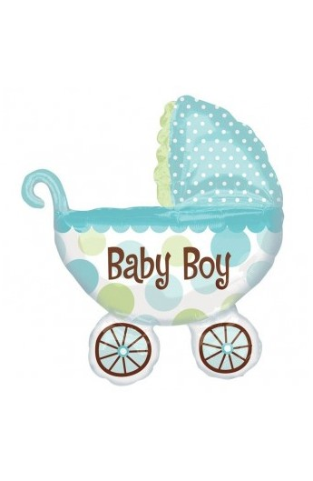 """Balon foliowy 24"""" Wózek Baby Boy"""