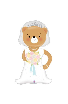 "24"" LINKY BRIDE BEAR"
