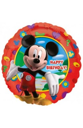 "18"" MICKEY CLUBHOUSE HAPPY BIRTHDAY"