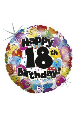 "Balon na 18 urodziny 18"""