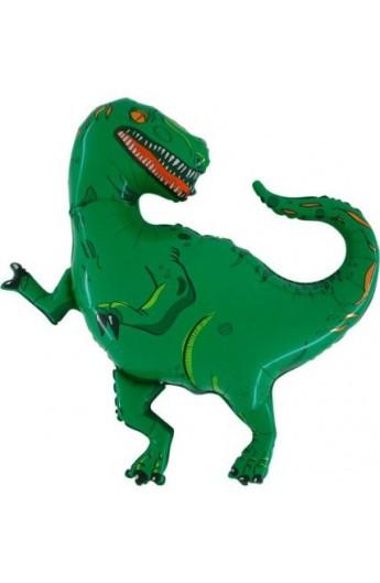 "Balon foliowy 24"" Dinozaur Grabo Transparent"