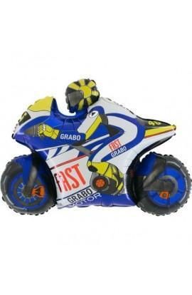 "24"" Motor Niebieski Grabo Transparent"