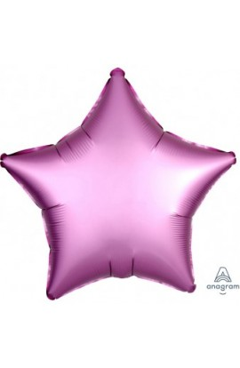 """Balon foliowy 18"""" Gwiazda różowa satin lux"""