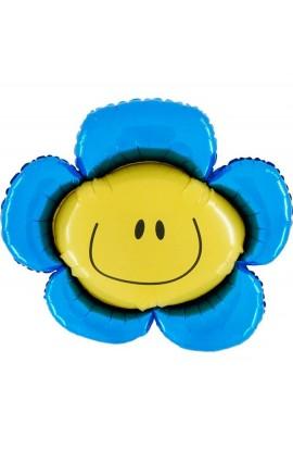 "24"" Kwiatek Niebieski Grabo Transparent"