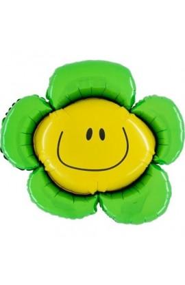 """24"""" Kwiatek Zielony Grabo Transparent"""