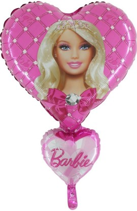 "Balon foliowy 24"" Barbie"