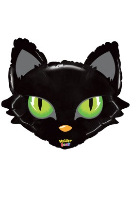 "Balon foliowy 28"" MIGHTY CAT HEAD"