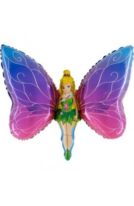 "24"" Lady Butterfly Grabo Transparent"