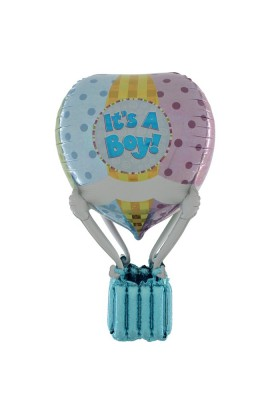 91 CM HOT AIR PATCHWORK BABY BOY