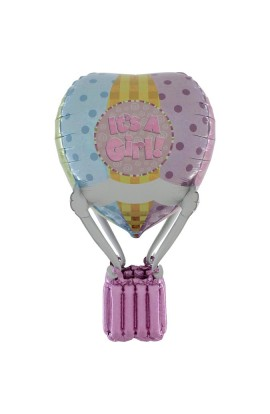 91 CM HOT AIR PATCHWORK BABY GIRL