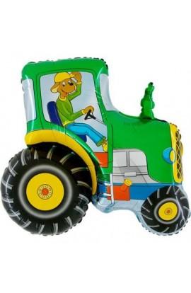"24"" Traktor Zielony Grabo Transparent"