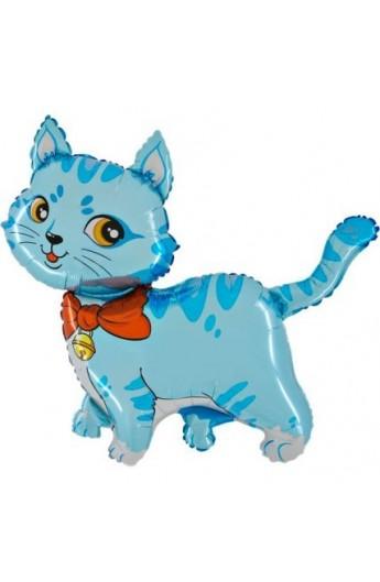 "24"" Kot Niebieski Grabo Transparent"