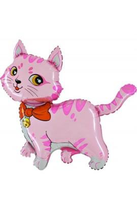 """24"""" Kot Różowy Grabo Transparent"""