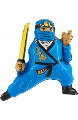 "24"" Ninja Niebieski Grabo Transparent"