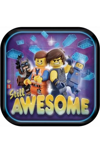 8 TALERZYKÓW LEGO MOVIE 2