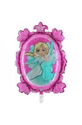 """Balon foliowy transparent 24"""" Tiffany Lustro Różowe"""