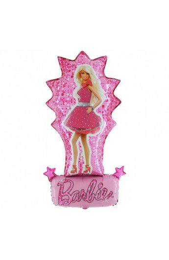 "Balon foliowy transparent 24"" Barbie Fashion"
