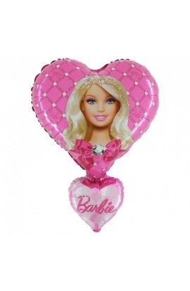 "24"" Barbie Hearts Grabo Transparent"