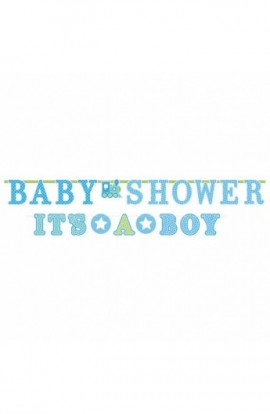"BANER ""BABY SHOWER IT'S A BOY"""