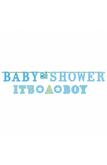 "BANER ""BABY SHOWER IT'S A BOY"""