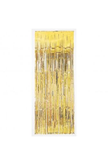 Dekoracja na drzwi złota