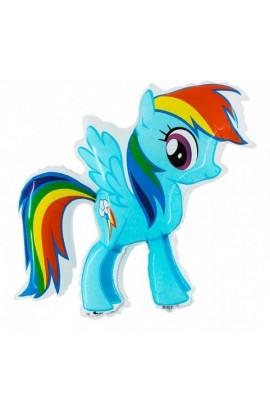"24"" My Little Pony Rainbow Dash Grabo Transparent"