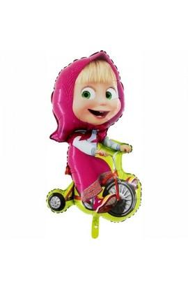 """Masza na rowerze 24"""""""
